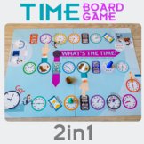 Time board game 2 in 1