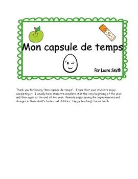 Time capsule/Capsule de temps