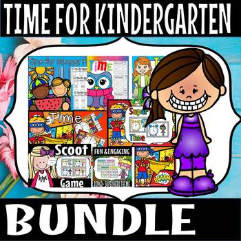 Time clipcards worksheet bundle (50% off for 48 hours)