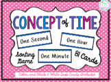 Time concepts:  1 second, 1 minute, 1 hour Sort