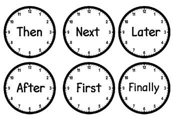 Time connectives