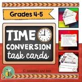 Measurement Time Conversion task cards