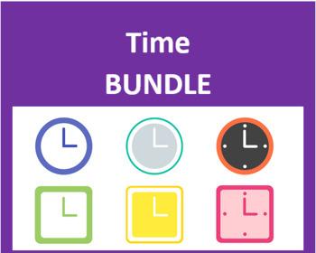 Hora (Time in Spanish) Bundle