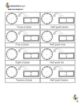 Time Printables for journals: differentiated activities