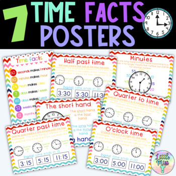 Time facts posters