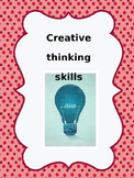 Time fillers - thinking skills