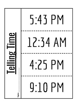 Time foldable