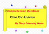 Time for Andrew...A Ghost Story by Mary Downing Hahn