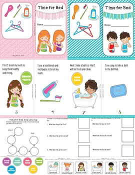 Bedtime: Multicultural Sequencing Books