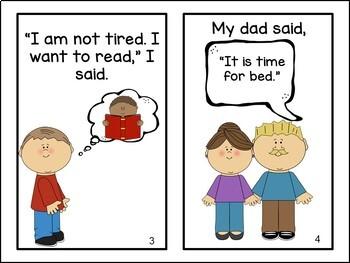 Time for Bed Emergent Reader Book {Young Readers, ESL, EFL}
