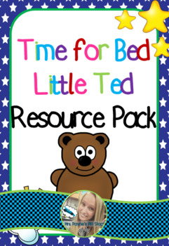 Time for Bed Little Ted Activity Pack UK Version
