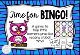 #betterthanchocolate Time for Bingo! An o'clock time game