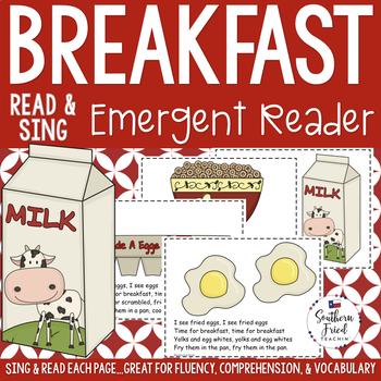 Breakfast Shared Reading Read & Sing Early Reader