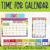 Time for Calendar; Interactive Calendar Pieces