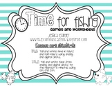 Time for Fishing: Games and Worksheets