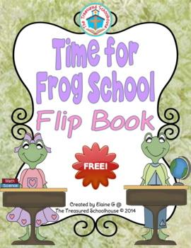 Telling Time Flipbook/Flip Cards - 5 Minutes {FREEbie}