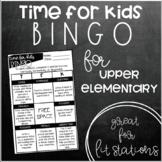 Time for Kids BINGO