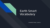 Time for Kids - Earth Smart Vocabulary Powerpoint