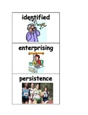 Time for Kids: Kid Reporters at Work - vocabulary picture cards