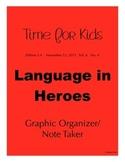 Time for Kids Language of Heroes, FREEBIE (Nov. 13, 2015)