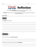 Time for Kids Reflection