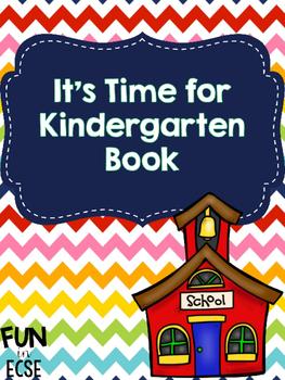 Time for Kindergarten Book Freebie!
