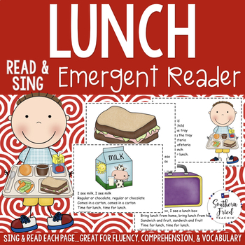 Lunch Emergent Reader