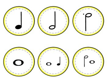 Time for Music! - Clock Decoration