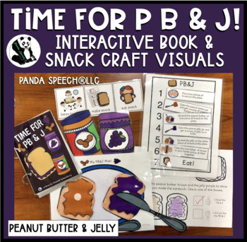 Time for PB & J! Interactive Book and Snack Craft Visuals