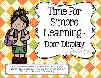 Time for S'more Learning Door Display