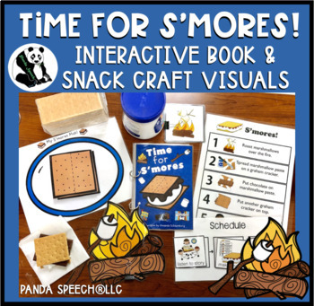 Time for S'mores! Interactive Book and Snack Craft Visuals
