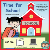 Time for School: A Morning Routine No Print No Prep
