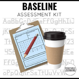 Back to School  Baseline Pre-Assessment Pages
