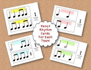 Time for School! Time Signature Matching Activity/Game, Meter 2, 3, 4