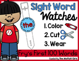 Sight Word Watches-Fry's First 100 Words