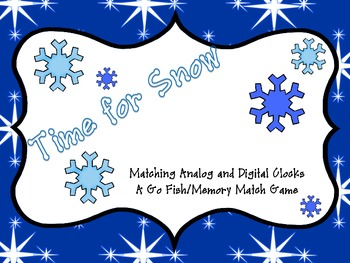 Time for Snow: Matching Analog and Digital Time