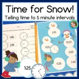 Time for Snow: Telling time to the nearest 5 minutes, 2nd