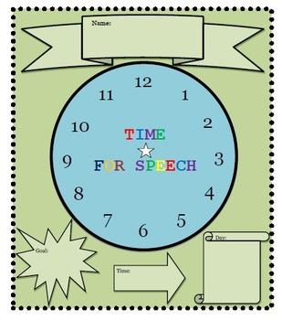 Time for Speech Clock