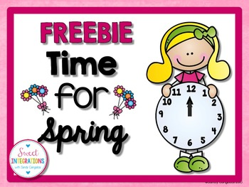 TIME FOR SPRING - Time Activities