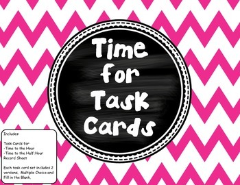 """""""Time"""" for Task Cards"""