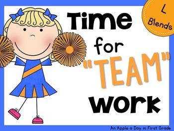 "Time for ""Team""work L Blends"