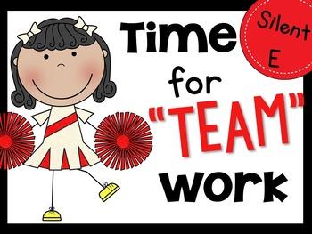 Time for Teamwork Silent E