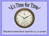 Time for Time. Clocks and other time related activities.