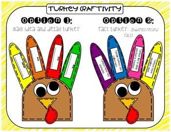 Time for Turkeys-Informational Reading and Writing