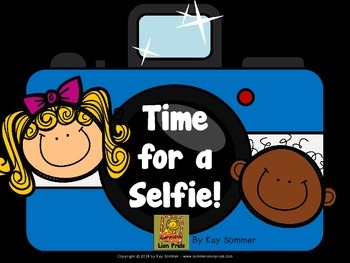 Time for a Selfie!  {Telling Time to the Hour}