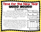 Time for the New Year Task Cards-Word Problems
