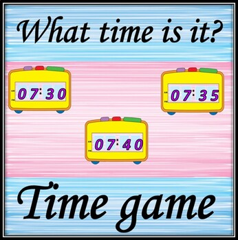 Time game.
