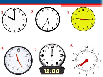 Time in French