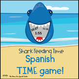 Time in Spanish: Review Game: Shark Feeding Frenzy! La Hora y Numeros