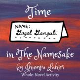 Time in The Namesake by Jhumpa Lahiri   Handout   Activities